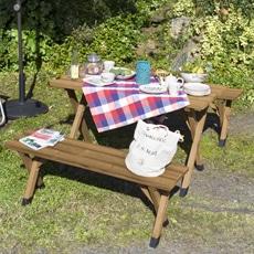 サーモウッド BBQピクニックテーブルセット