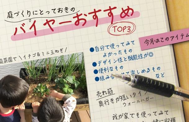 バイヤーおすすめTOP3